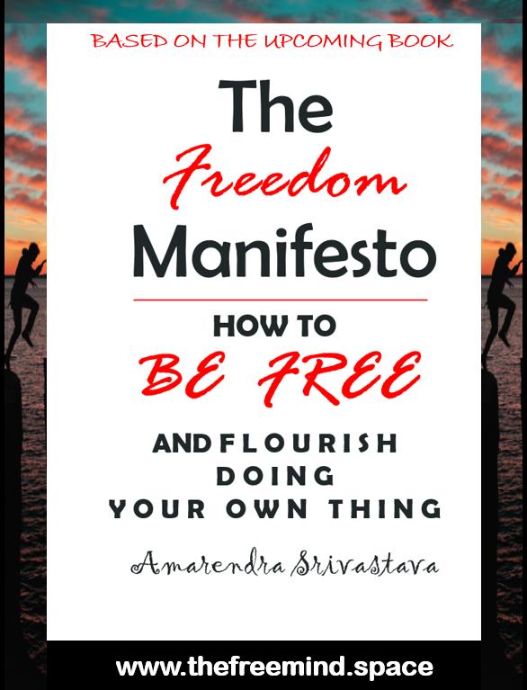 Book The Freedom Manifesto by Amarendra Srivastava
