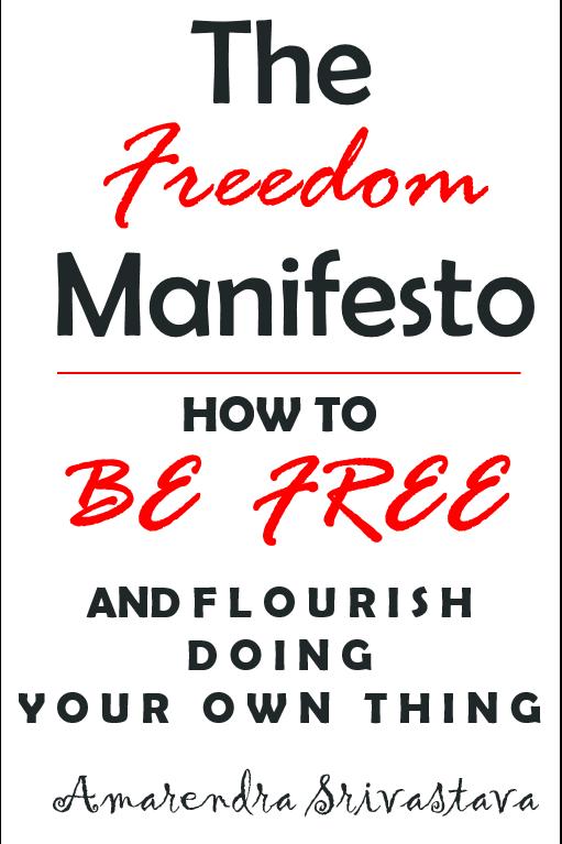 The Freedom Manifesto - Book By Amarendra Srivastava